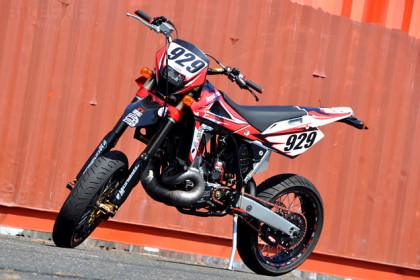 Boyko Honda CR500 custom