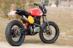 Radical Ducati's custom Yamaha XT600