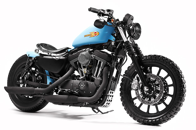 Shaw Speed & Custom's Harley 1200 Sportster