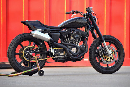 Sportster Sport custom by Mule motorcycles