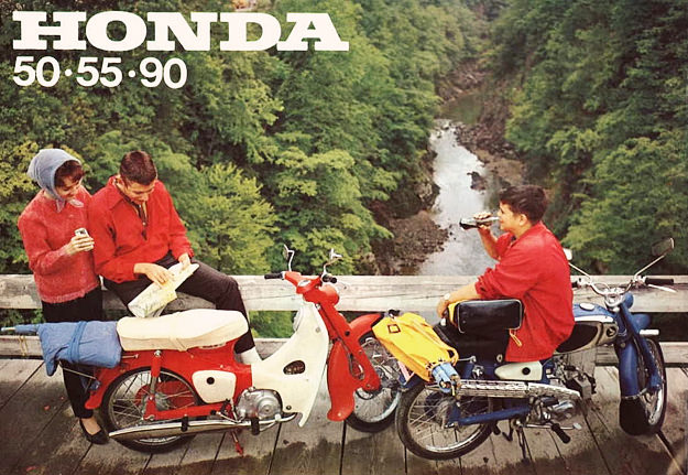 Honda 55 motorcycle
