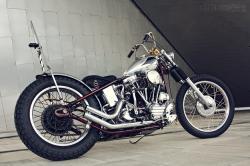 Harley Panhead custom