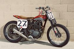 Co-Built flat track racer