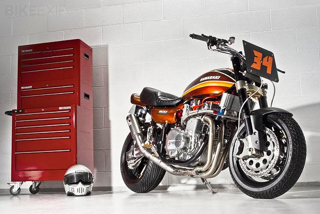 Kawasaki Z1 by Racefit