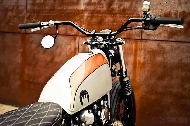 Yamaha XS650 cafe