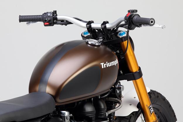 Tridays Triumph Scrambler: the Rumbler