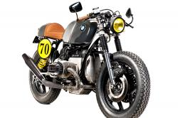 "Ton-Up Garage's classy BMW R80 ""Dark Law"""