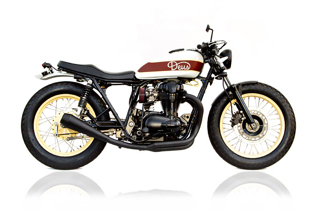 Kawasaki W650 custom by Deus