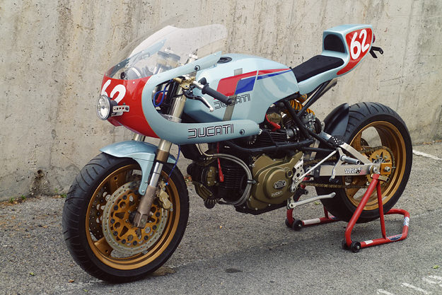 Pantah custom by Radical Ducati