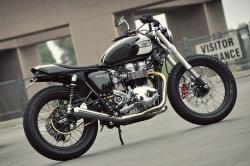 Matt Helder's Triumph Bonneville T100