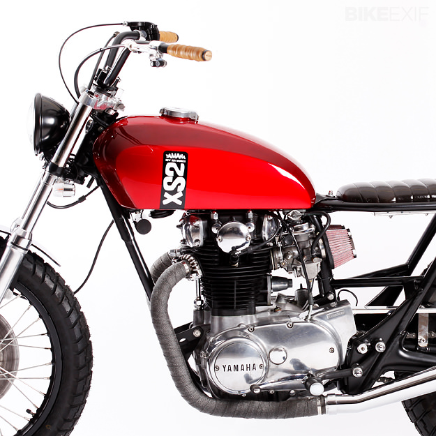 yamaha xs650 by cr351 bike exif