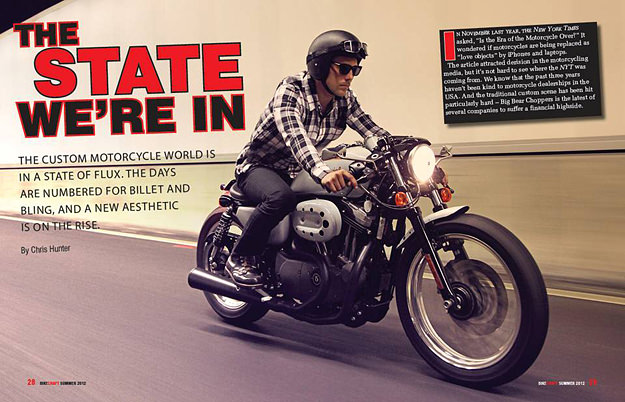 Bikecraft custom motorcycle magazine