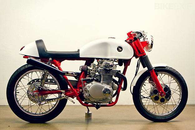 Honda cafe racer by Lossa Engineering