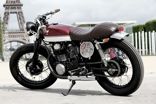 honda cb350 sak racer bike exif. Black Bedroom Furniture Sets. Home Design Ideas