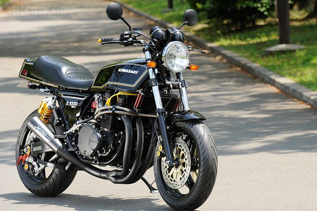 Blog of the Biker  Kawasaki KZ1000 Mk II