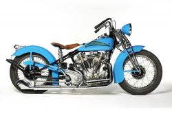 1937 Crocker motorcycle
