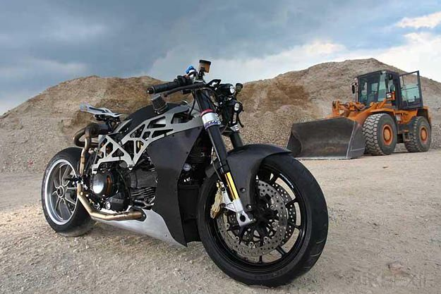Custom Ducati Monster by SCM.