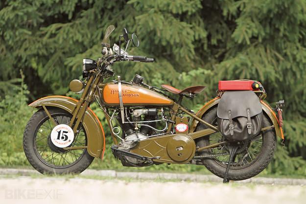 Harley-Davidson JDH