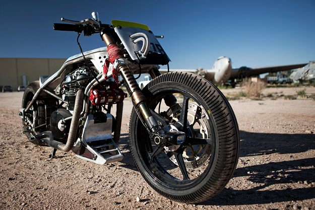 Yamaha XS 650 custom motorcycle