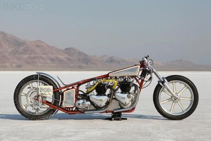Triumph motorcycle racing