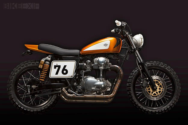 Custom Kawasaki W650 by Ton Up Garage