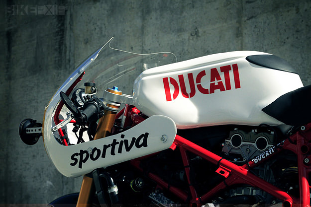 Ducati 749 custom motorcycle