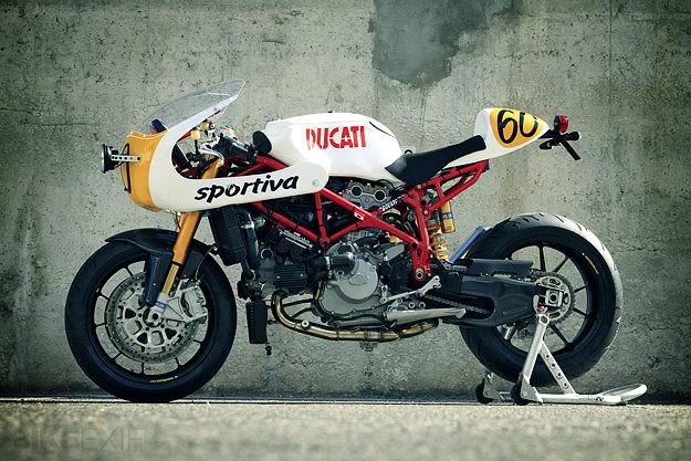 Ducati 749 custom motorcycle