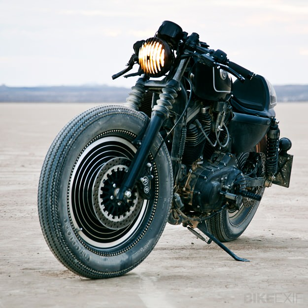 Harley XL883N by Roland Sands for Technics