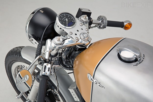 Moto Guzzi Le Mans Mark III custom motorcycle