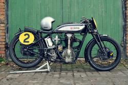 Norton CS1 racer