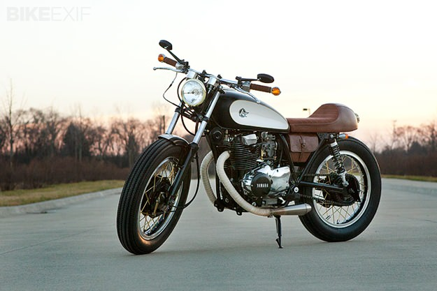 Yamaha XS400 by Analog Motorcycles