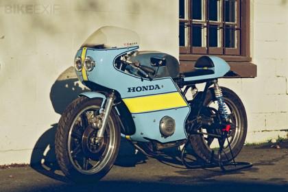 Cafe racer Honda