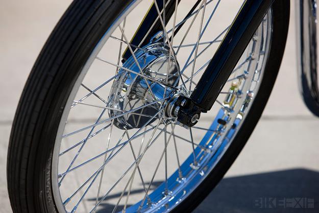 Skinny and shiny Wheel