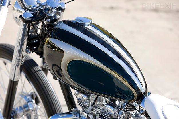 Mooneyes motorcycle