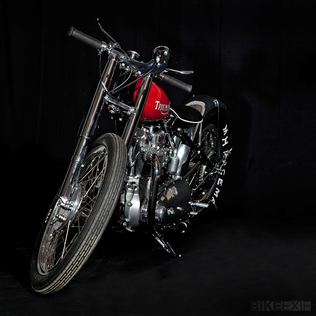 1953 Triumph T100 by Baron's Speed Shop