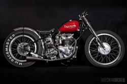 Triumph T100 sprint bike