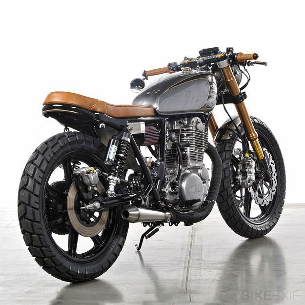 analog custom 1979 yamaha sr500 gear x head. Black Bedroom Furniture Sets. Home Design Ideas