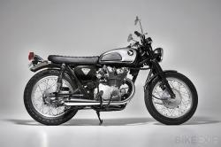 Honda CB450 K1 by Ellaspede