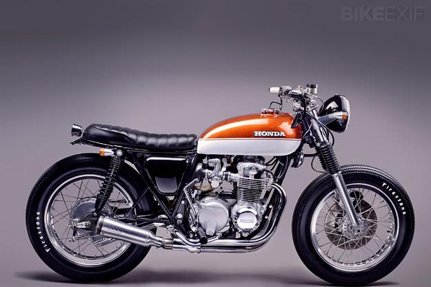 Honda CB550F   Motorcycle Modification