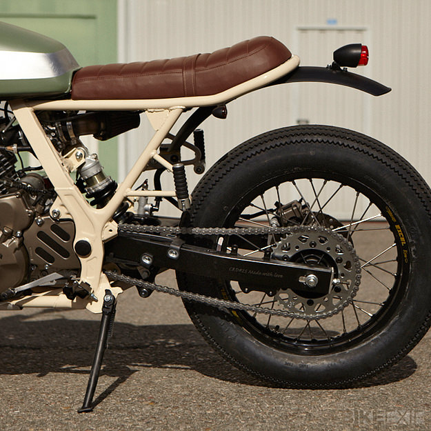 Honda NX 650 custom motorcycle