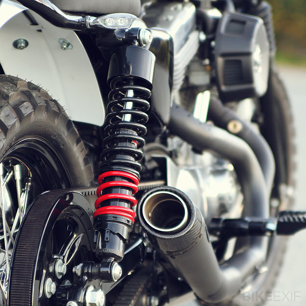 Scrambler motorcycle by Burly Brand