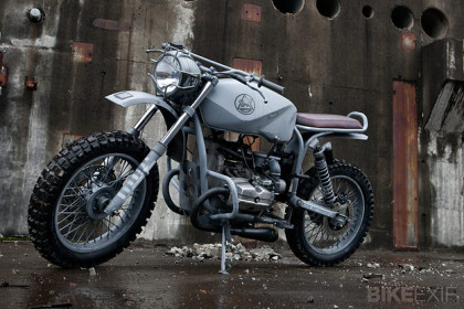 Ural Solo custom motorcycle