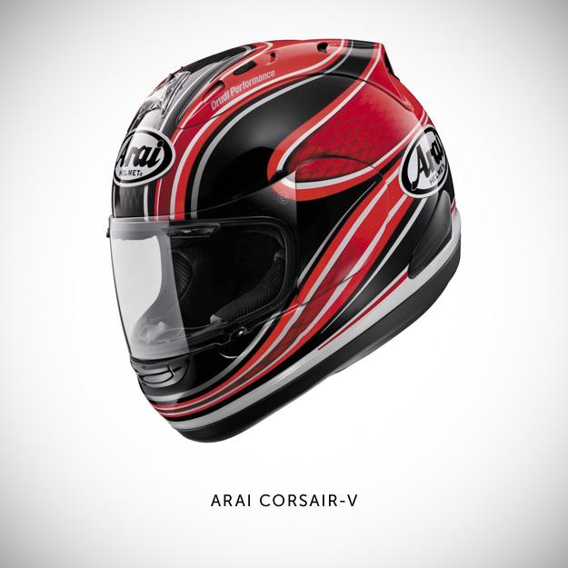 Arai Corsair motorcycle helmet
