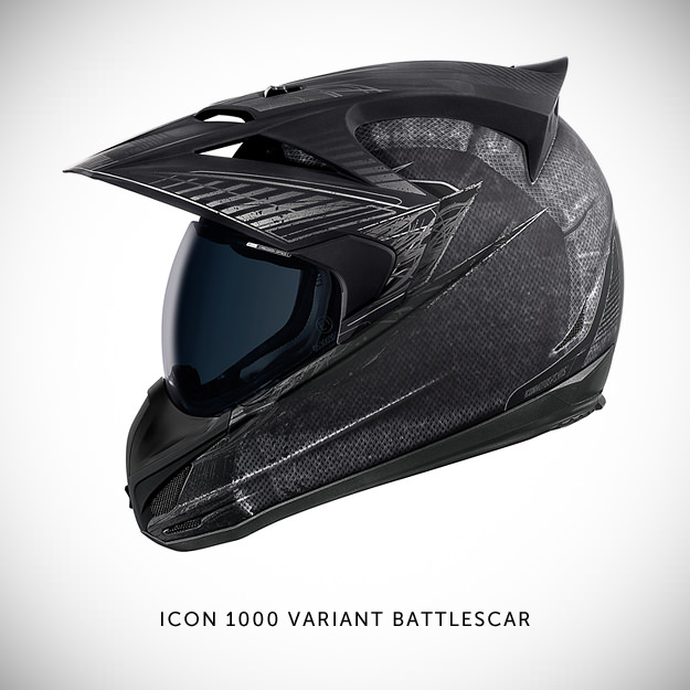 Icon 1000 motorcycle helmet