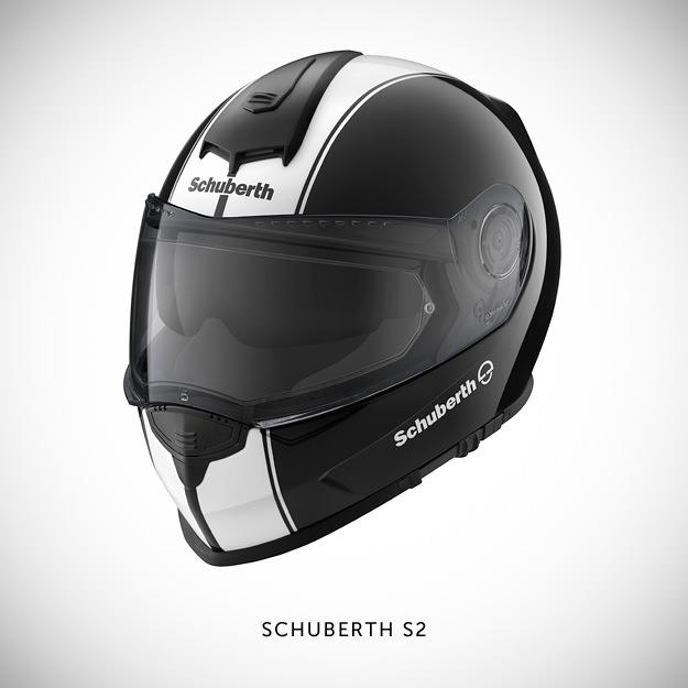 Schuberth S2 motorcycle helmet