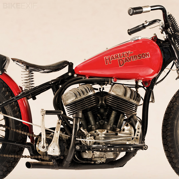 Harley-Davidson racing motorcycle