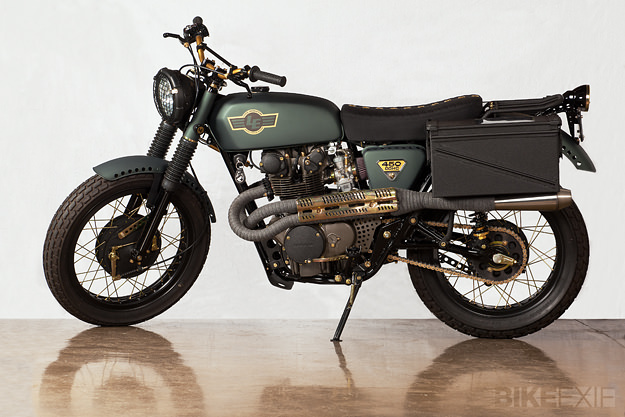 cafÉ racer 76: honda cl450lossa engineering