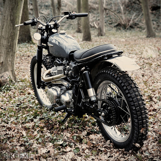 caf racer 76 kawasaki w650 scrambler. Black Bedroom Furniture Sets. Home Design Ideas