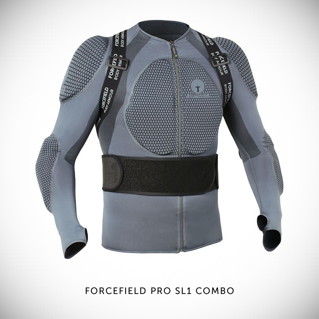Motorcycle armor by Forcefield