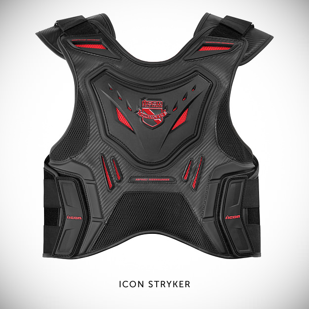 Motorcycle armor by Icon